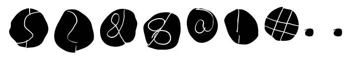 DiskO-LightInvers Font OTHER CHARS