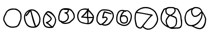 DiskO-Medium Font OTHER CHARS
