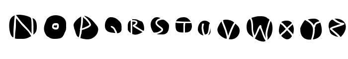 DiskO-MediumInverse Font UPPERCASE