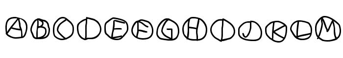 DiskO-Medium Font LOWERCASE