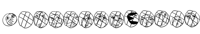 DiskOBats Font LOWERCASE