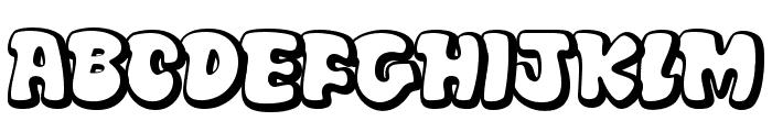 Disko Font UPPERCASE