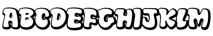 DiskoOT Font UPPERCASE