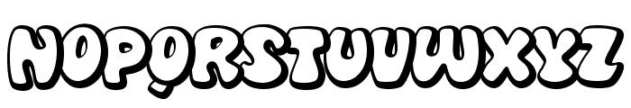 DiskoOT Font LOWERCASE