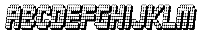 Diskoteque Font UPPERCASE