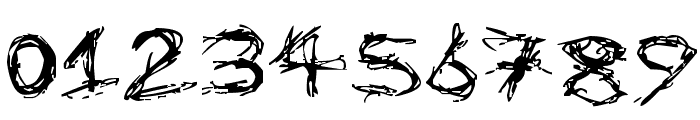 Dismembered Font OTHER CHARS