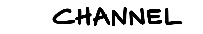 Disney Channel Font OTHER CHARS