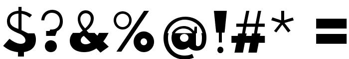 Disoluta-Regular Font OTHER CHARS