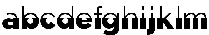 Disoluta-Regular Font LOWERCASE