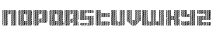 Display Gothic D Regular Font UPPERCASE