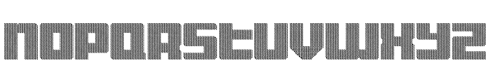 Display Gothic D Regular Font LOWERCASE