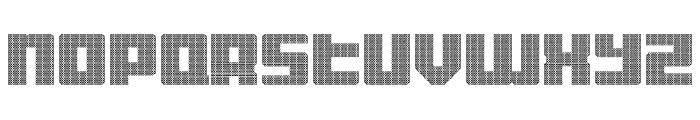 Display Gothic E Regular Font UPPERCASE