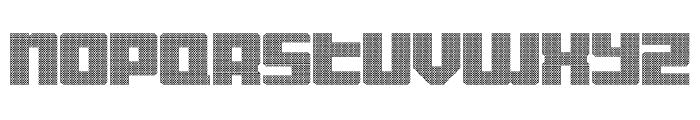 Display Gothic E Regular Font LOWERCASE