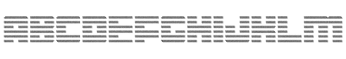 Display Gothic I Regular Font UPPERCASE