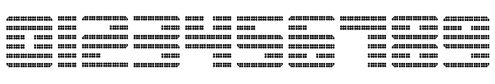 Display Gothic J Regular Font OTHER CHARS
