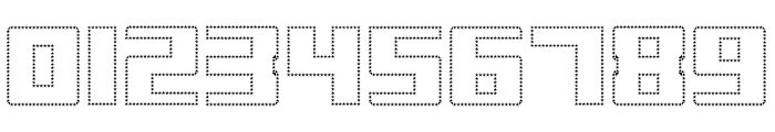 Display Gothic M Regular Font OTHER CHARS