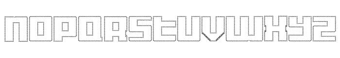 Display Gothic M Regular Font LOWERCASE