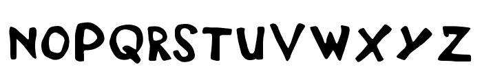 DisplayFadi Font UPPERCASE