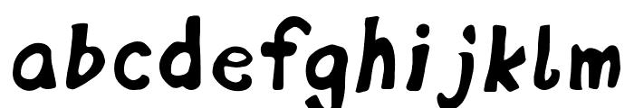 DisplayFadi Font LOWERCASE