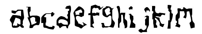 Dissonant Font LOWERCASE