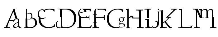 Dissouns Font UPPERCASE