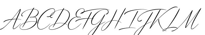 DistantStroke Font UPPERCASE