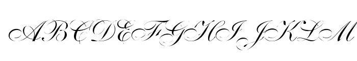 Distemper Font UPPERCASE