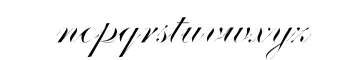 Distemper Font LOWERCASE