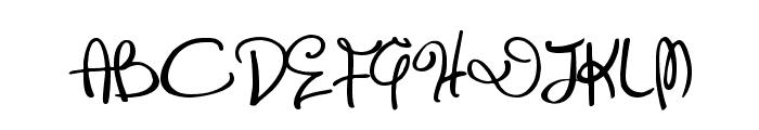Distinguished Font UPPERCASE