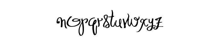 Distinguished Font LOWERCASE