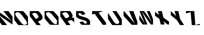 Distorsion Milenio Regular Font UPPERCASE