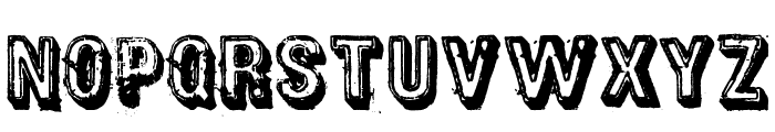 District Font UPPERCASE