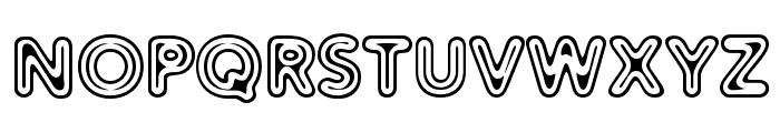 Distro II Extinct Font UPPERCASE