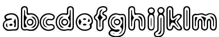 Distro II Extinct Font LOWERCASE