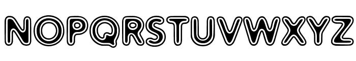 Distro II Vinyl Font UPPERCASE