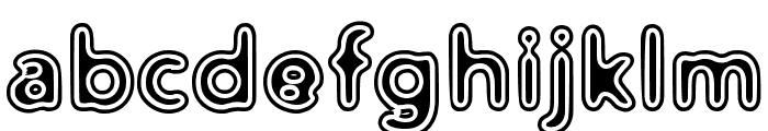 Distro II Vinyl Font LOWERCASE