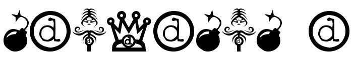DisturbedBats Yo! Font OTHER CHARS