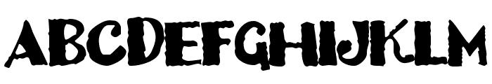 Dizzy Bitch Font UPPERCASE