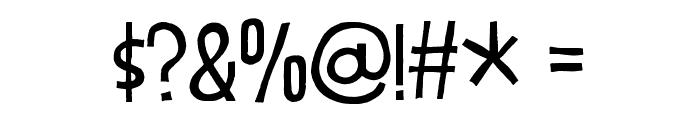 DizzyEdgeDEMO Font OTHER CHARS