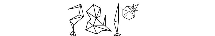 diamond d Font OTHER CHARS