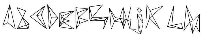 diamond d Font LOWERCASE