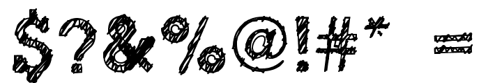 dibble nibble square Font OTHER CHARS