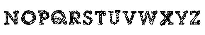 dibble nibble square Font UPPERCASE