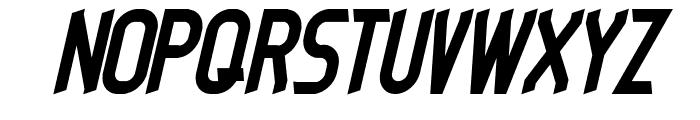 dieselpunk-italic Font UPPERCASE