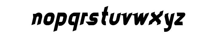 dieselpunk-italic Font LOWERCASE