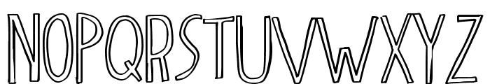 dingleberry Font UPPERCASE