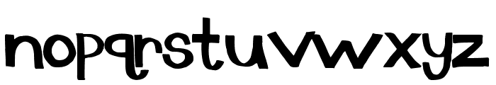 dingus Font LOWERCASE