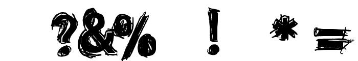 dinstik Font OTHER CHARS