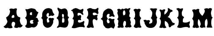 dirty sox Font LOWERCASE