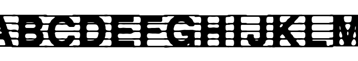 distracted musician Font LOWERCASE